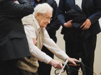 """Gröning a """"magyar akció"""" idején szolgált Auschwitzban - Forrás: Profimedia/Corbis"""